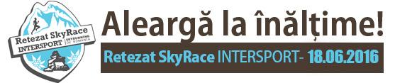 Retezat SkyRace Intersport 2016 | Aleargă la înalțime!